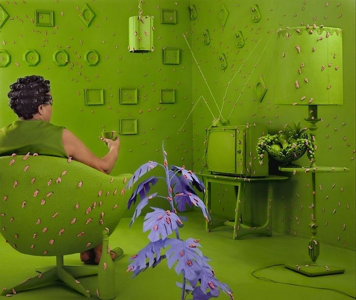 The Best Sandy Skoglund Ideas On Pinterest Gold Proce Art - Artist creates amazing fantasy dreamscapes into her small studio without using photoshop