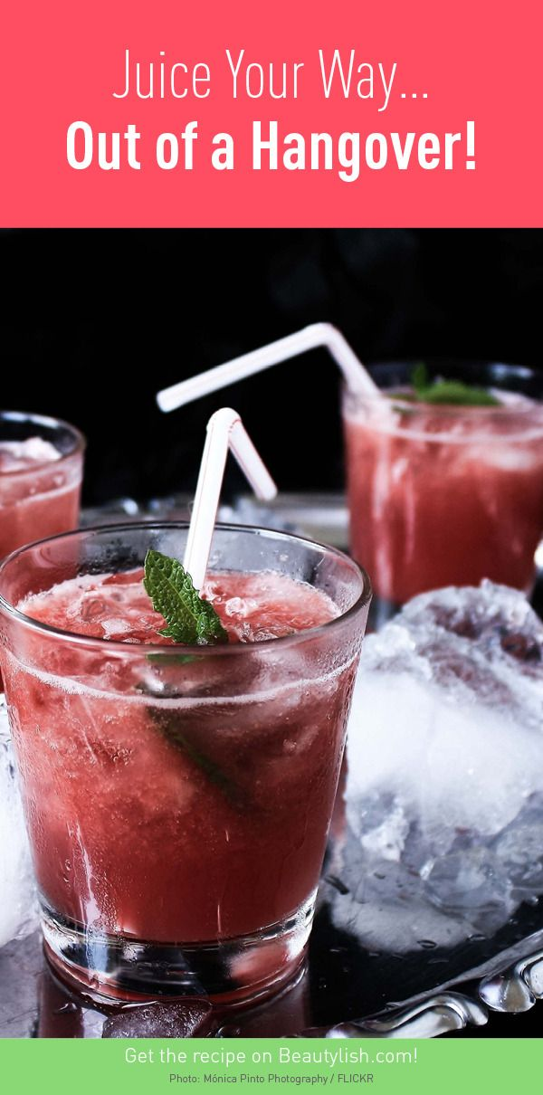 Juice Your Way… Out of a Hangover!