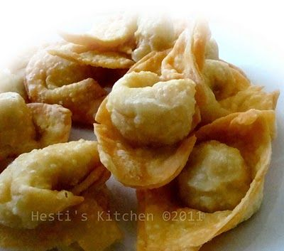 HESTI'S KITCHEN : yummy for your tummy...: Pangsit Goreng