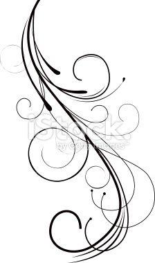 Swirl Design Stock Illustration 19462988 - iStock