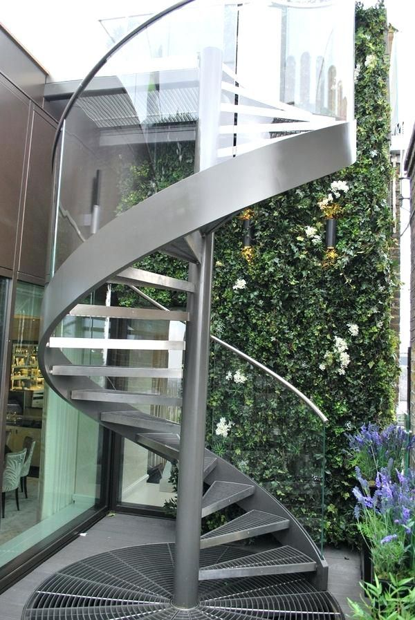 Glass Spiral Staircase Glass Spiral Stair Demax Arch Stairs   Trex Spiral Stairs Cost   Stair Treads   Composite   Stair Case   Steel   Handrail