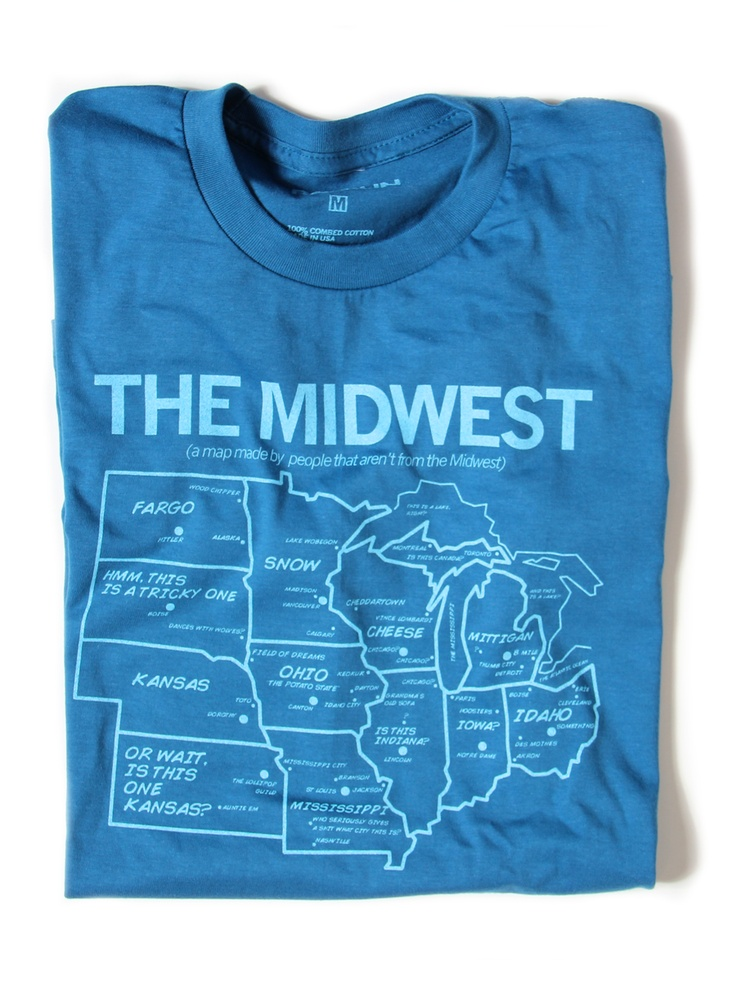 The Midwest-as viewed by people not from the midwest- HA!