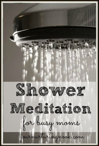 Since becoming a mother, the shower is one of my favorite places to meditate. Moms don't always have the luxury of quiet time to themselves. (As an introvert, this is something I dearly miss!) But, a few minutes in the shower is something anyone can squeeze in. This is one of my favorite breathing exercises, Breath of Joy, modified into a shower meditation.