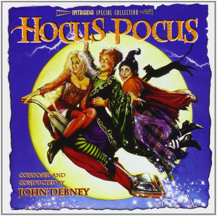 Hocus Pocus Original Motion Picture Soundtrack by John Debney.  If you love this movie & the music, get this CD NOW -- it is a limited edition re-release & will sell out quickly. Gotta have this playing in the background during our Hocus Pocus Halloween Party Decorations & Ideas