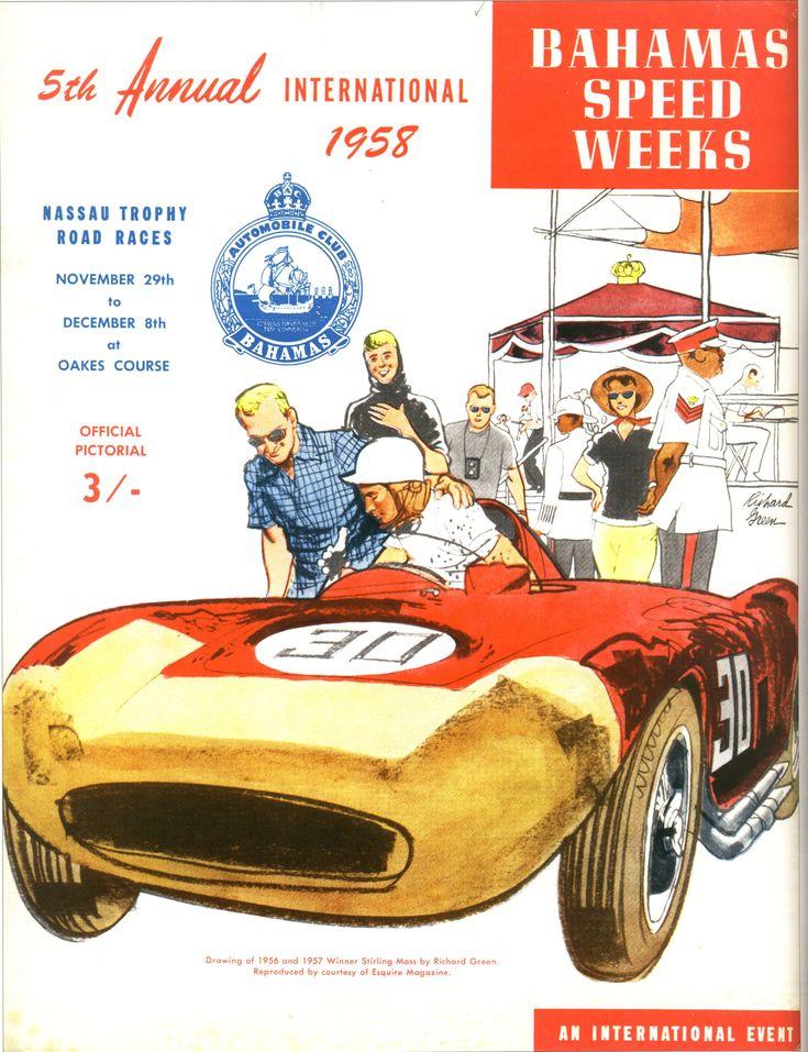Bahamas Speed Week 1958 Program Guide.