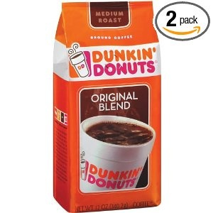 Dunkin Donuts coffee (or World Market)