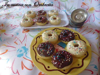 In cucina con Ombretta: Mini ciambelle simil donuts