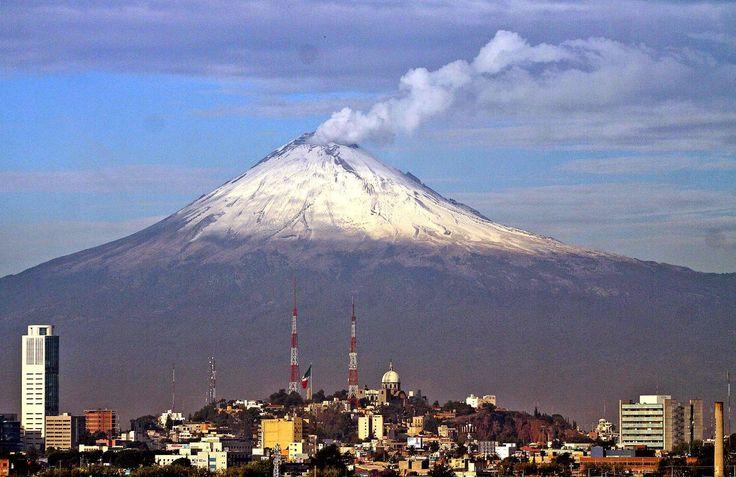 Resultado de imagen para Popocatepetl - Iztaccihuatl acuarelas
