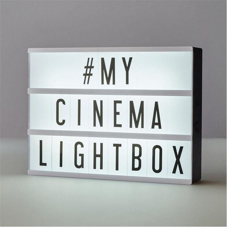 Big déco trend: the Lightbox
