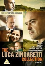 Luca Zingaretti Collection [Region 2] - DVD - New - Free Shipping.