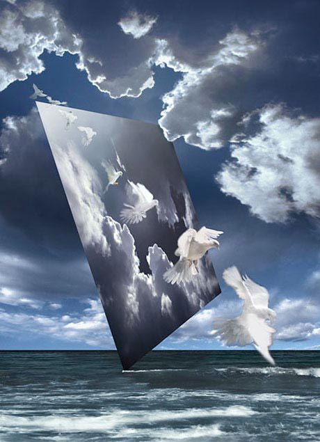 Ryszard Horowitz Photocomposer - Analog Portfolio Crossing '03