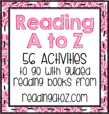 Guided Reading Resources! Enter for your chance to win 1 of 2. Reading A to Z - 56 Activities for Guided Reading Books (80 pages) from First Grade Fun Times on TeachersNotebook.com (Ends on on 2-2-2015) Guided Reading Resources