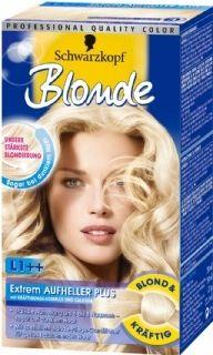 De sterkst mogelijke blondering Met Nutritive Oil Complex Geschikt voor lichtbruin tot donkerbruin haar en lichtjes grijzende haren licht jouw haar met 6-8 tinten op Met Anti-Geel effect