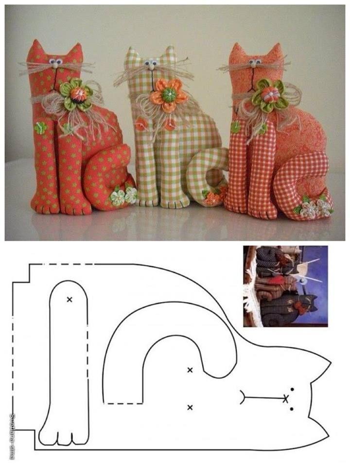 Большая подборка выкроек для мягких игрушек | Рукоделие