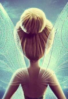 Tinker Bell i love her hair bun thats how i want my hair to look!