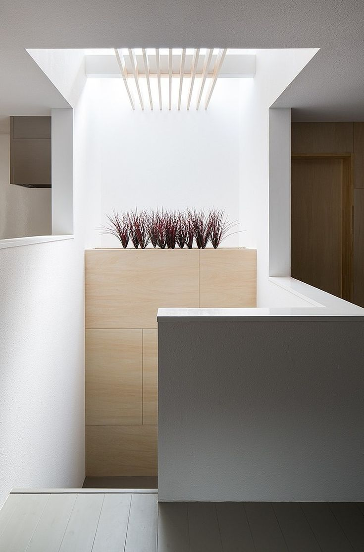 Keep stairs neat and well lit and not as dark afterthoughts. www.methodstudio.london