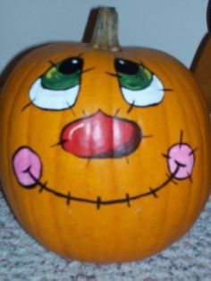 Painting creative pumpkin faces & pumpkin decorating ideas! Description from pinterest.com. I searched for this on bing.com/images