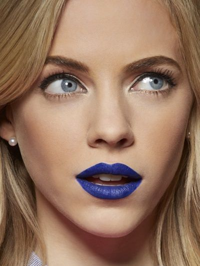 Learn how to wear blue lipstick to perfectly complement your skin tone, from fair to dark skin. Explore these bold, matte blue lipstick looks by Maybelline.