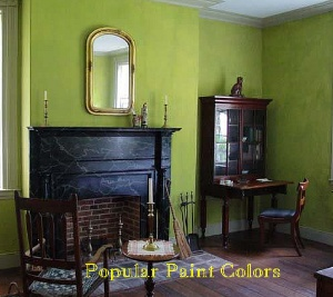The Living Area Of Master Bedroom Wylie House Built In Walls Are Painted With Milk Paint From Old Fashioned Company