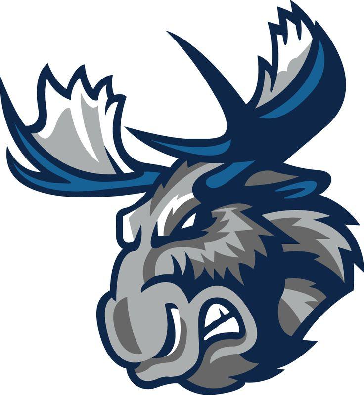 Manitoba Moose Logo   Manitoba Moose Secondary Logo - American Hockey League (AHL) - Chris ...