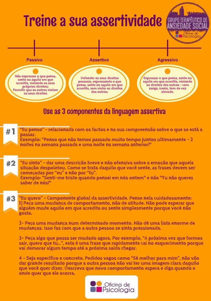 Como ser assertivo? http://oficinadepsicologia.com/ansiedade-social/
