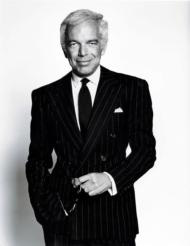 Ralph Lauren é o típico americano na hora de escolher seu costume. Saiba porquê no link do nosso perfil.