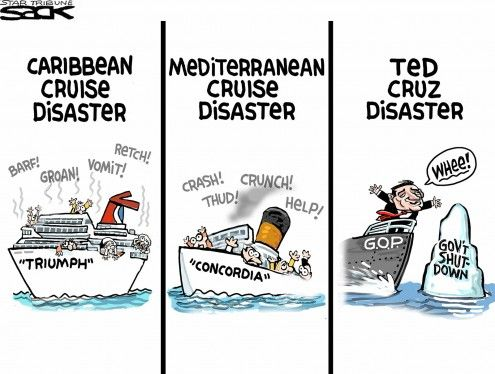 Ted Cruz Cartoons | Cartoons of the day: Ted Cruz's marathon speech