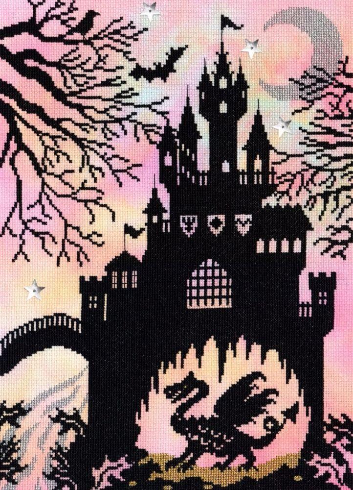 Dragon Castle - Fairytale Series. Cross stitch kit by Bothy Threads