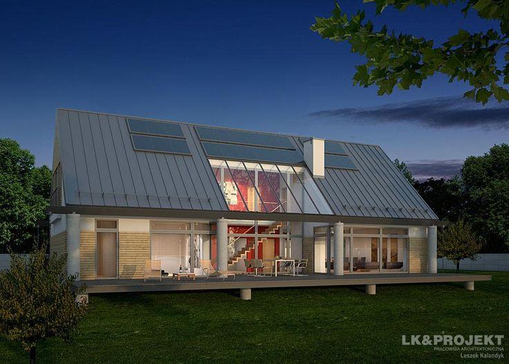 Projekty domów LK&Projekt LK&873 wizualizacja 3