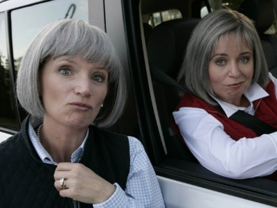 Prue and Trude are coming - and they've got flutes in their Orofice.