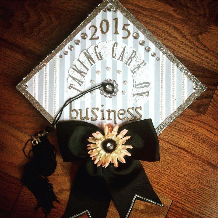77 best design your own graduation cap images on pinterest for Accounting graduation cap decoration