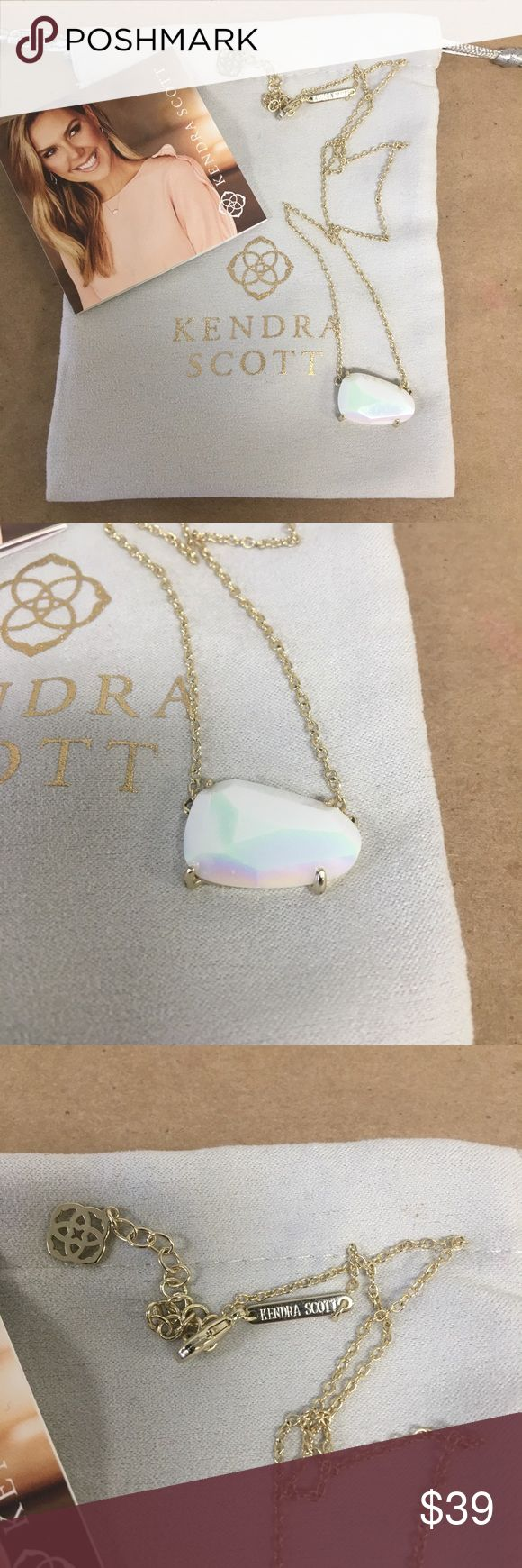 """Kendra Scott ISLA 18"""" Necklace in Gold & Pearl! Kendra Scott ISLA 18"""" Necklace in Gold & Ivory Mother Of Pearl! Inventory #  6221-8 Everything we sell is 100% guaranteed authentic! We list dozens of items every day, so check our other listings out! We are Meta Exchange, a resale store in Baton Rouge, LA! Sorry, no trades. REASONABLE offers will be considered. We ship same/next day. Thanks! Follow us: FB metaexchange  IG meta225 Kendra Scott Jewelry Necklaces"""