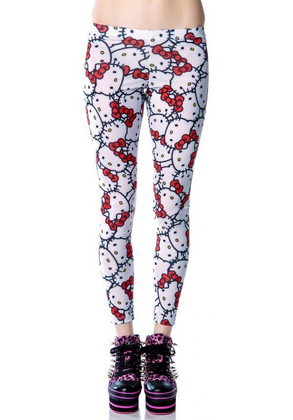 Hello Kitty Leggings - Japan L.A.