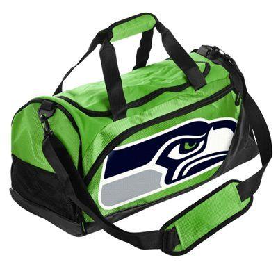Seattle Seahawks Small Locker Room Duffle - Green