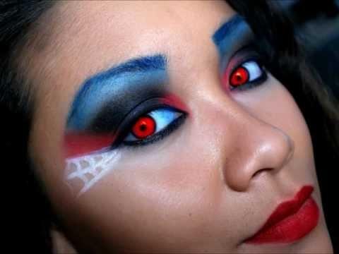 Spider man/woman inspired makeup! | Hair & Make-up! | Pinterest ...