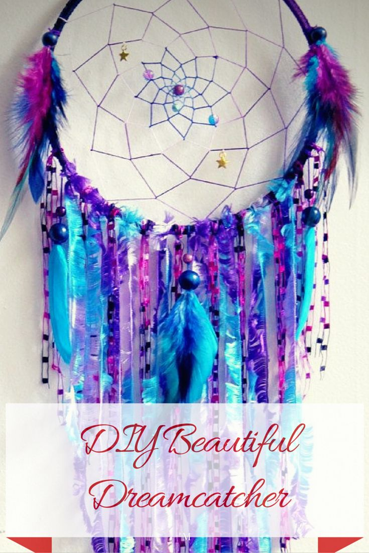 How To Make The Most Beautiful Dreamcatcher – DIY Tutorial