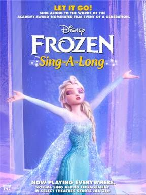 Do You Wanna Sing-Along-ong! Frozen Sing Along hits theatres tomorrow, but we have a preview for you today!  #frozen #disneyfrozen
