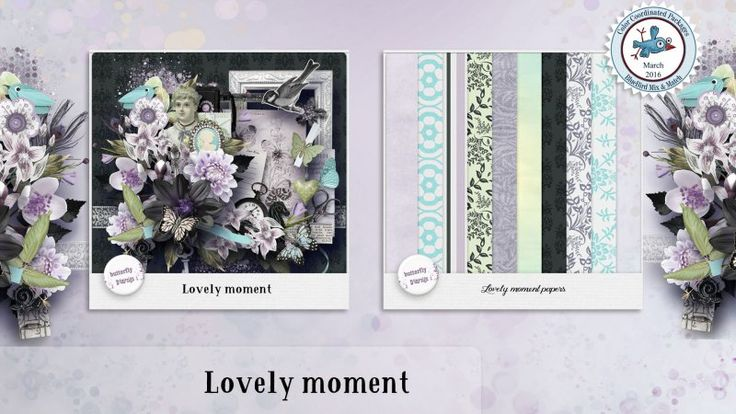 Lovely moment [Page kit]