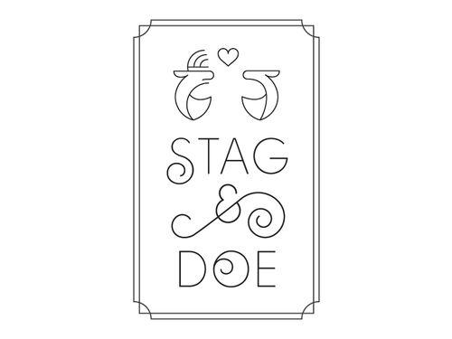 Stag & Doe by Carlin Scuderi