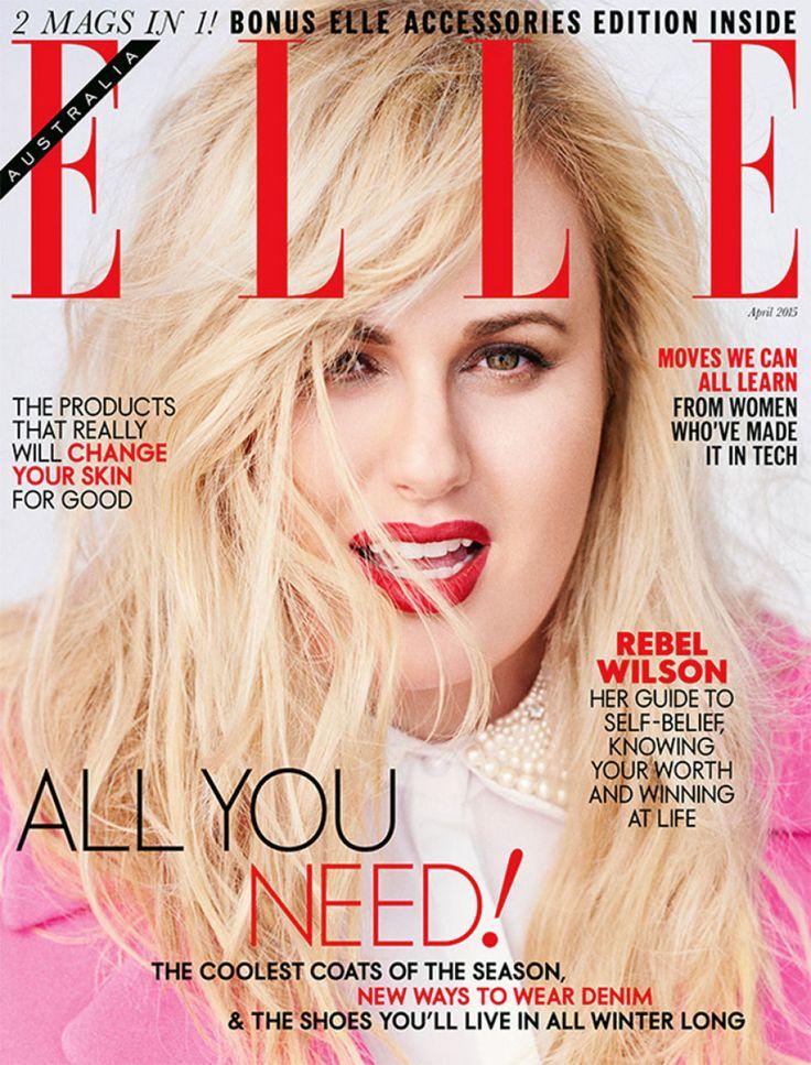 Rebel Wilson covers Elle Australia