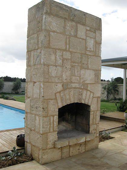 Pizza Oven, Western Australian Limestone, visit www.limestoneaustralia.com.au