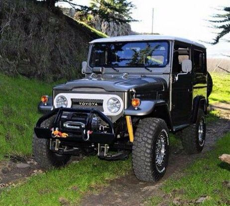 Outland Offroad Adventure Icon Toyota Land Cruiser FJ40