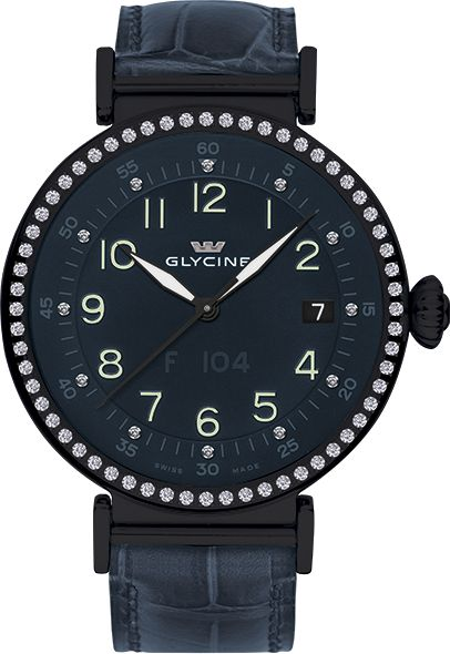 Glycine - F 104 automatic 40mm | Ref. 3933.98NDD LBK8