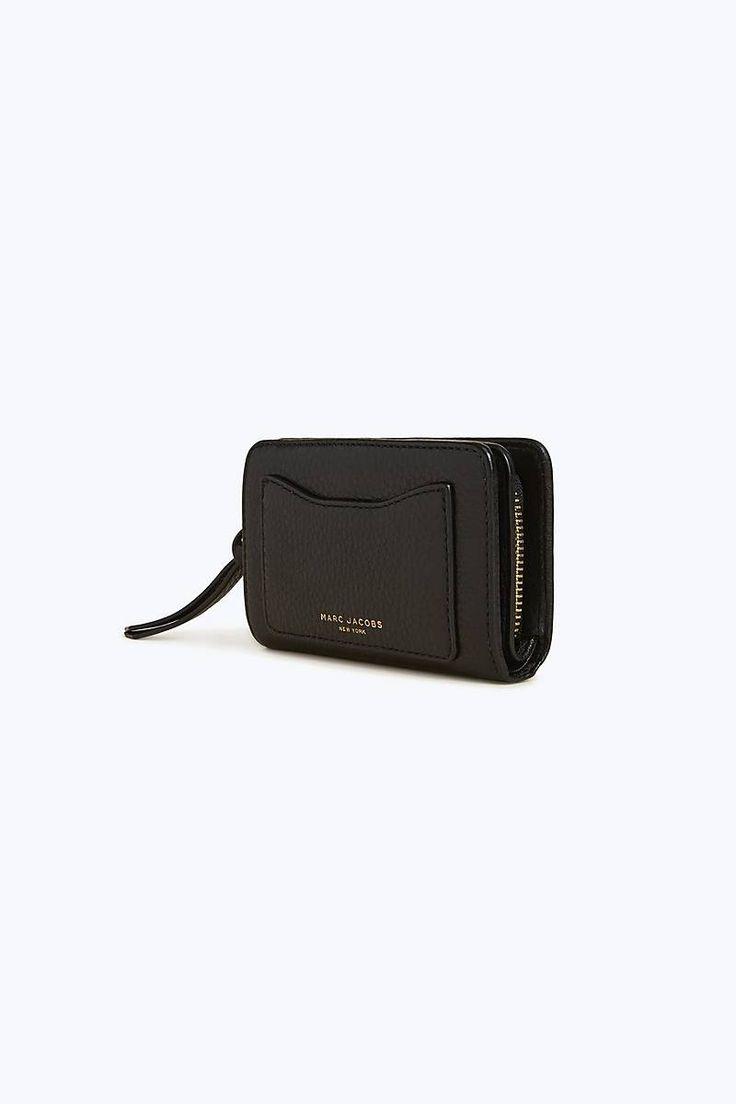 Marc Jacobs Recruit Compact Wallet (svart)