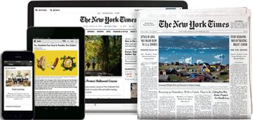 The New York Times: Get Home Delivery & Digital abonnement - NYTimes.com