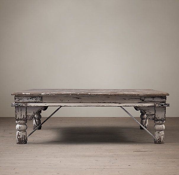 19th C Kerala Coffee Table Restoration Hardware Fabulous Furnishings Pinterest Hardware