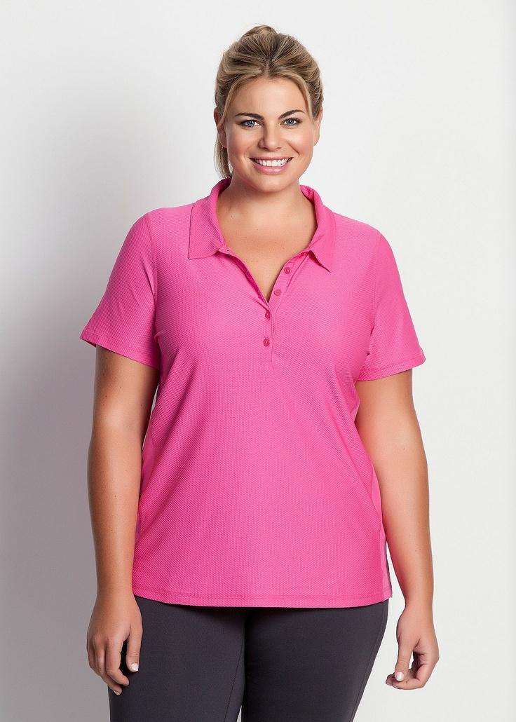 17 bedste id er til plus size kvinder p pinterest mode for Plus size polo shirts ladies