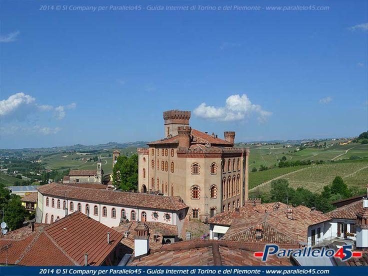 Il Castello di Barolo (CN), Piemonte. 44°37′00″N 7°56′00″E