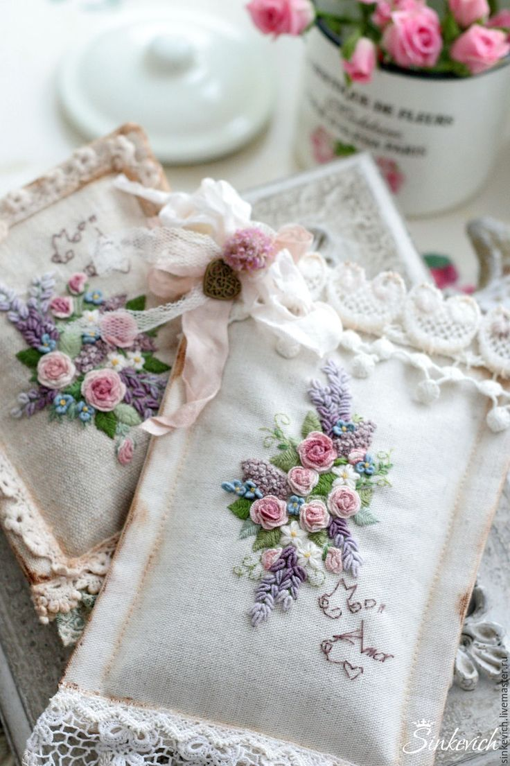 Ribbon embroidery bedspread designs - Embroidery