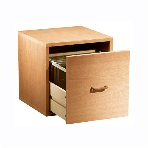 """Single File Drawer Cube in Honey by The Storage Store. $49.99. Holds 200 pounds per shelf. Innovative Hollow-Core construction; weighs 50% less than traditional particle board. Lightweight for quick, easy assembly. Finish: Honey , size: 15""""tall x 15""""wide x 15""""deep. The Honey Storage Cubes easily transform any room from humdrum to gorgeous. Available in a wide variety of styles, these furniture pieces are designed to fit your specific needs. The cubes are available in a l..."""